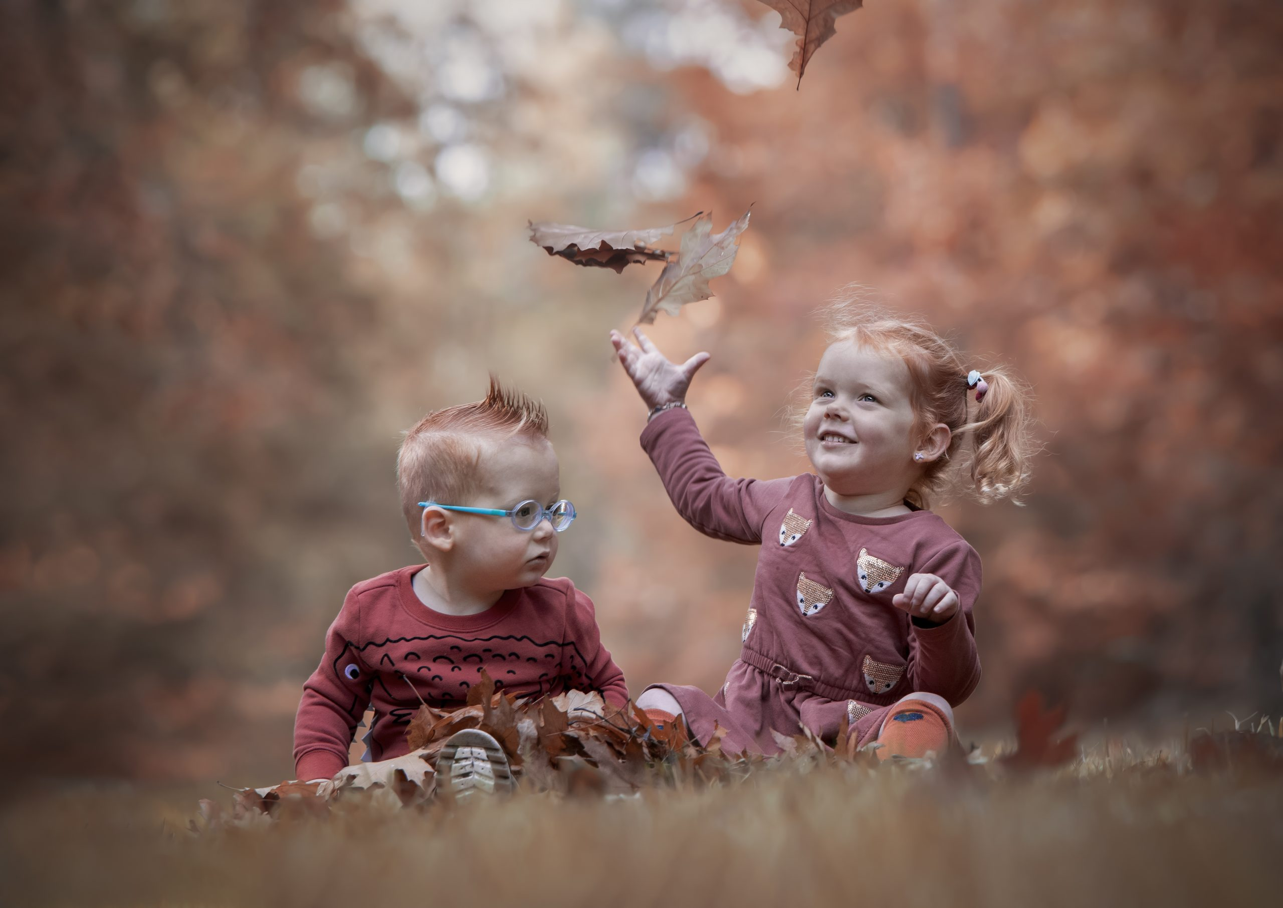 fofoshoot kinderen herfst