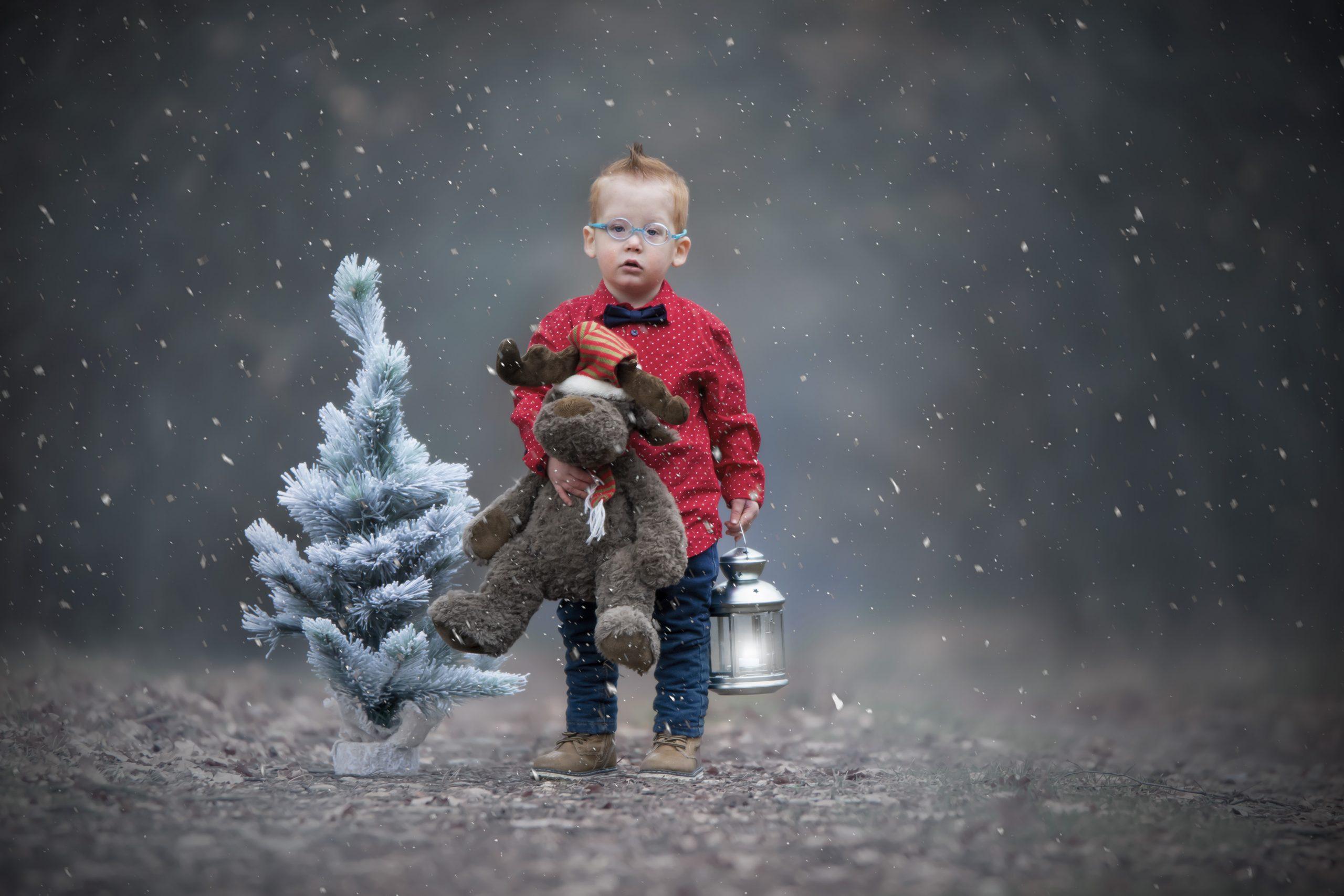 fotografie kind kerst